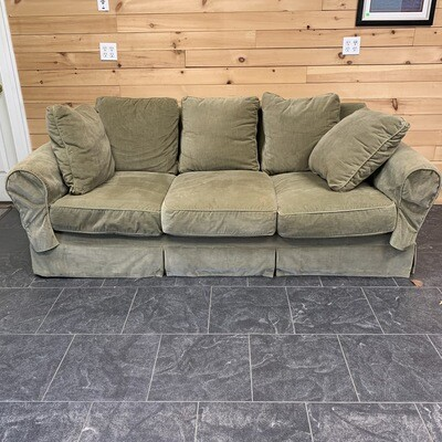 Olive Green Couch