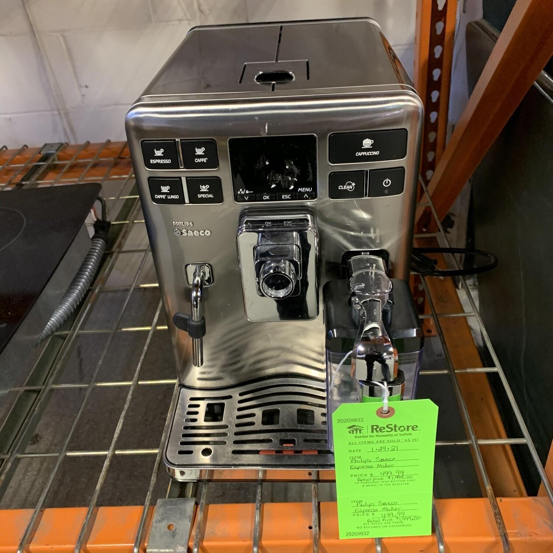 Philips Saeco Espresso Maker