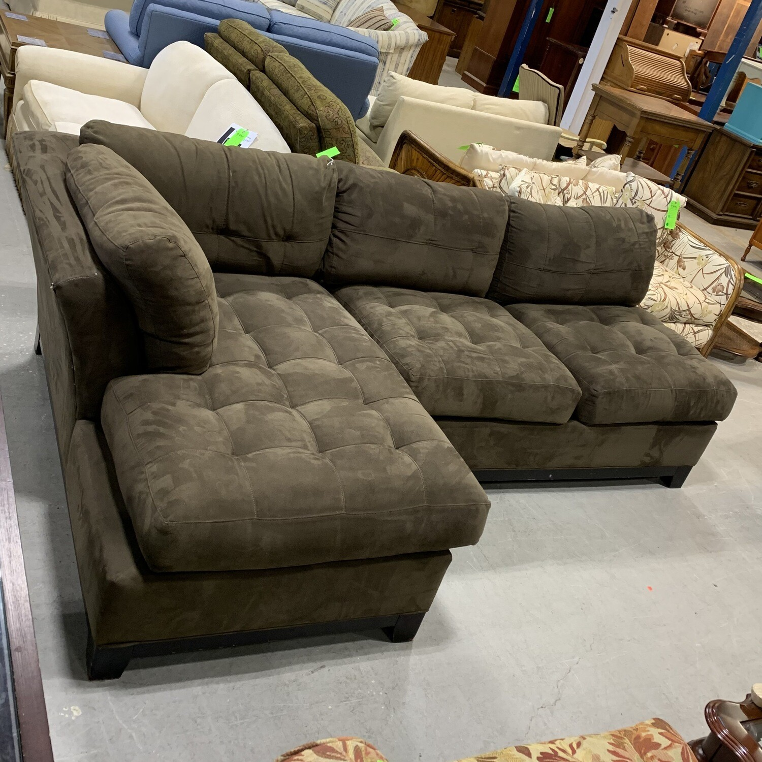 Cindy Crawford Home Two Piece Sectional
