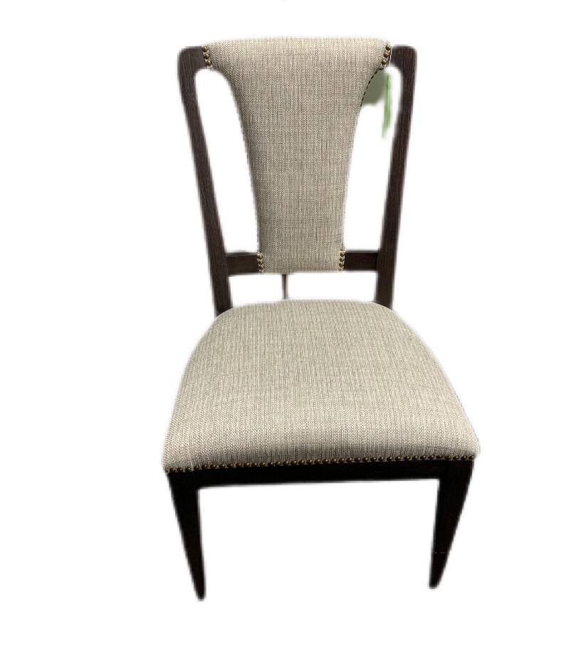 Artistica Linen Slat Back Side Chair