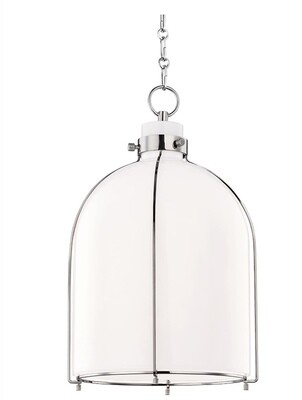 Hudson Valley Caged Pendant Lighting Fixture
