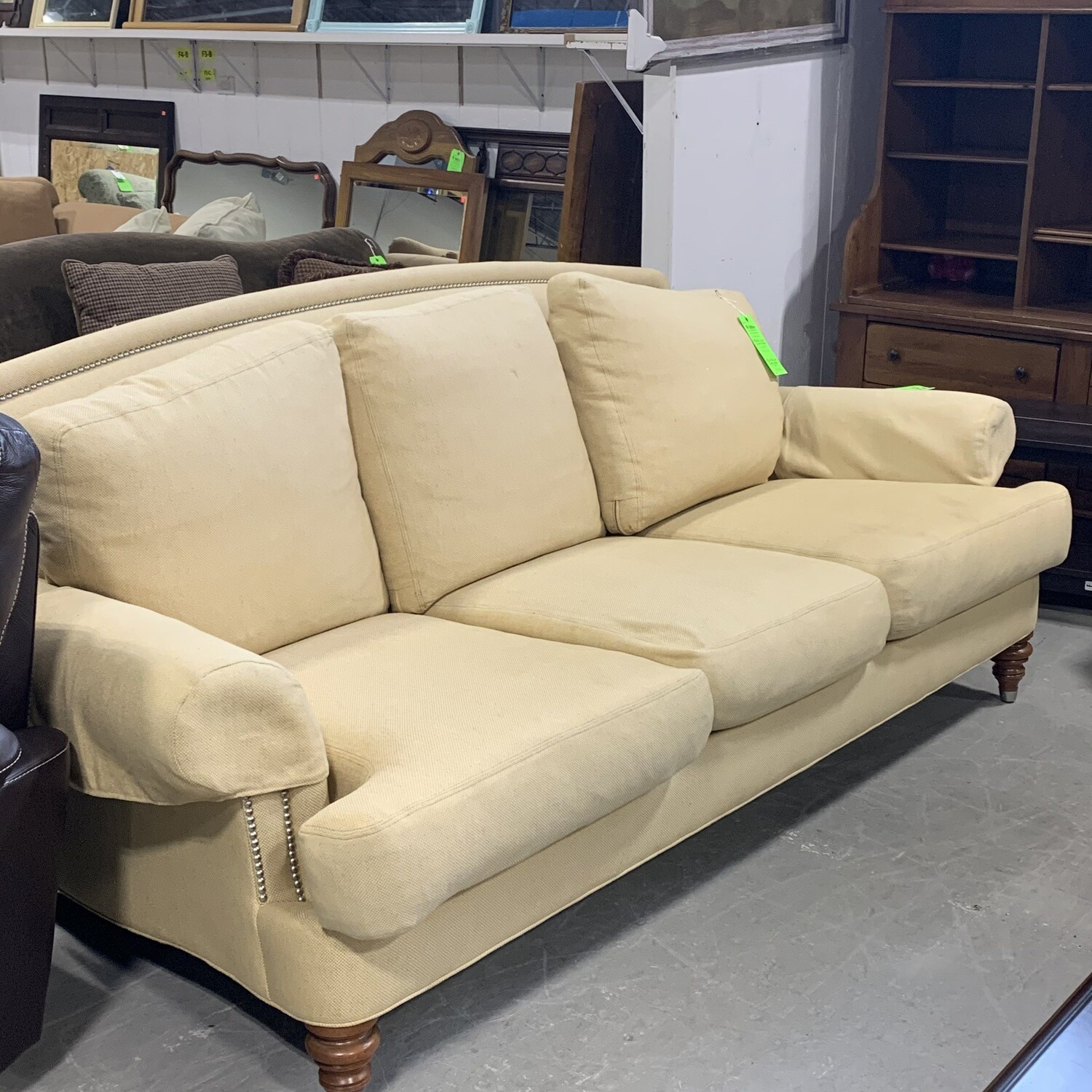 Ethan Allen Couch (Butterfly Yellow)