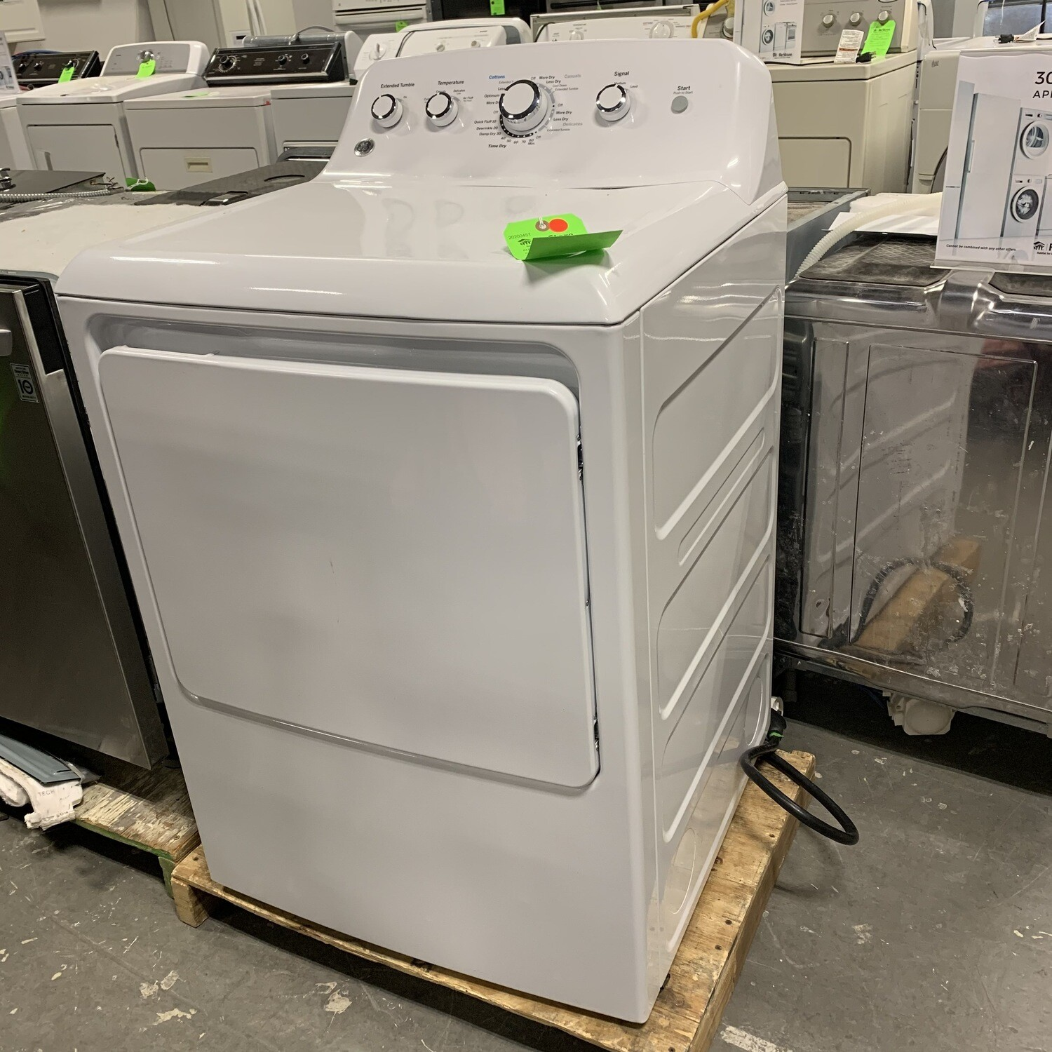 GE Electric Dryer 2