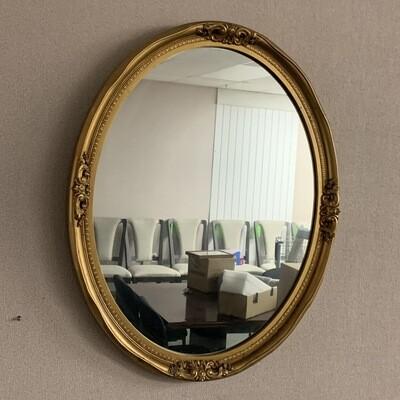 Vintage Round Mirror