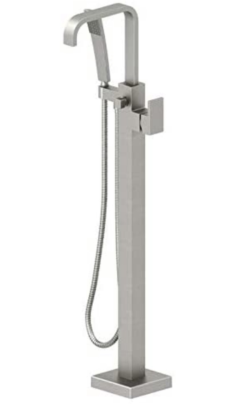 Jacuzzi Floor Mount  Hand Shower & Square Escutcheon