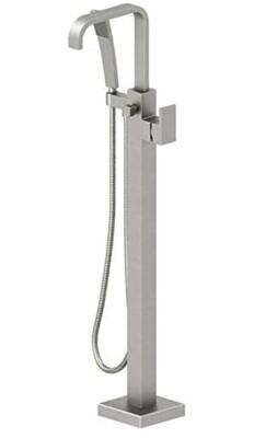 Jacuzzi Floor Mount  Hand Shower & Square Escutcheon