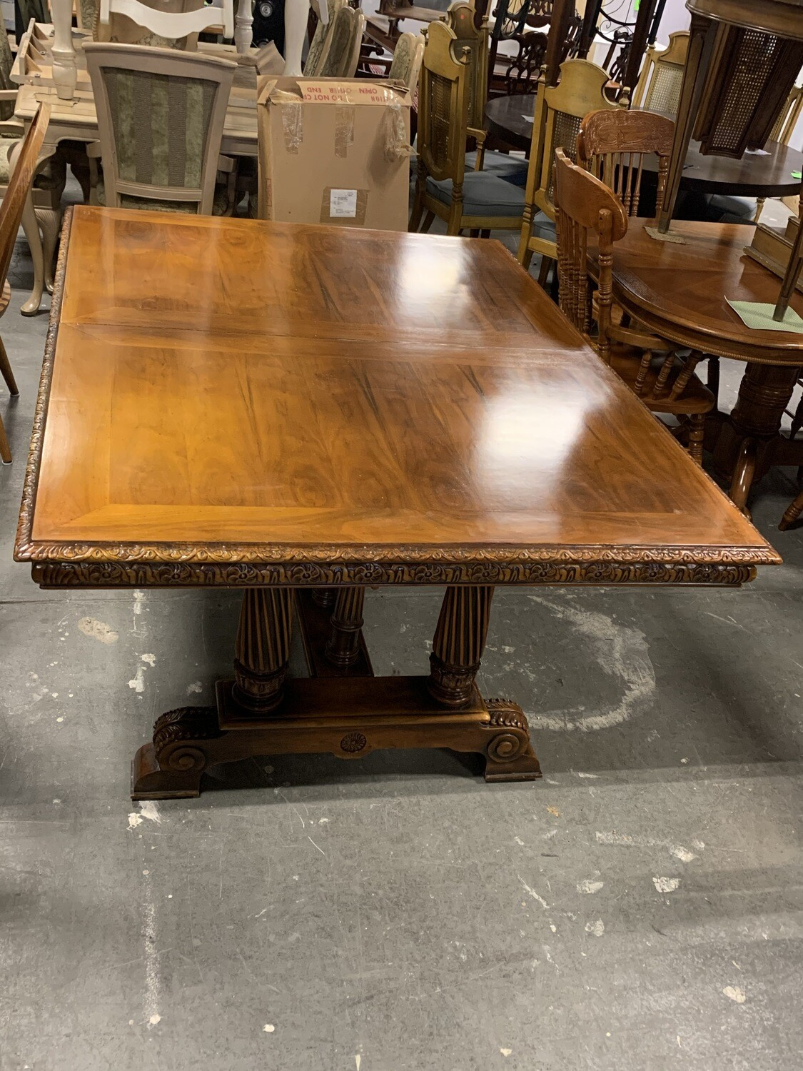 Theodore Alexander Medieval Revival Dining Table