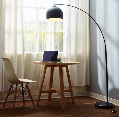 Arquer Floor Lamp - Gold