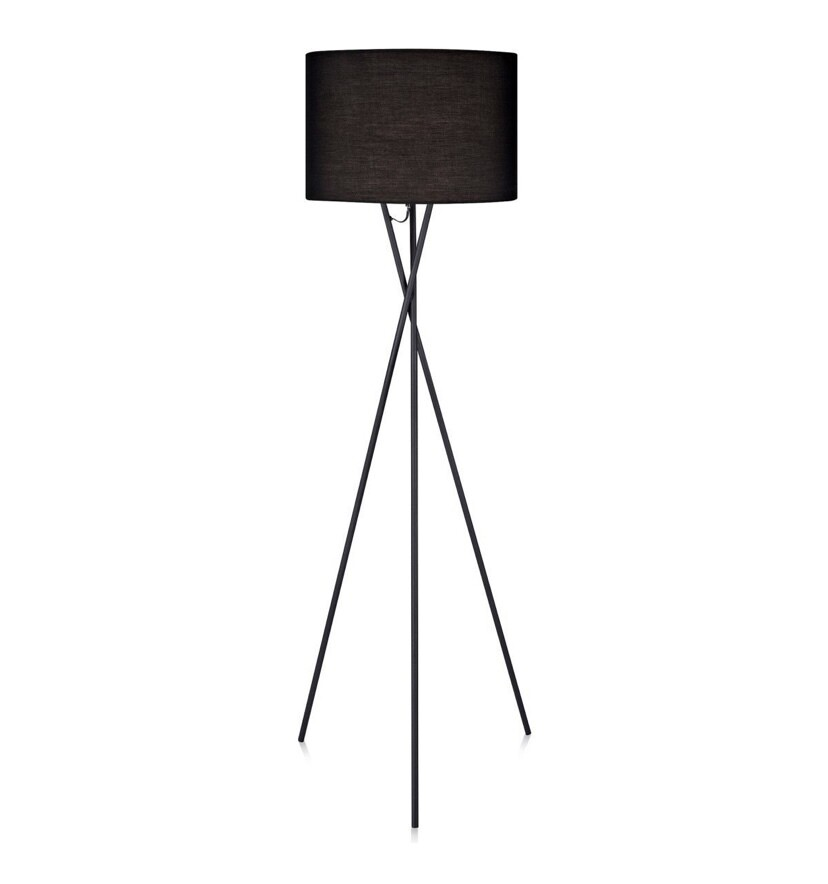 Cara Tripod Floor Lamp - Black