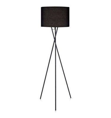 Cara Tripod Floor Lamp - Black