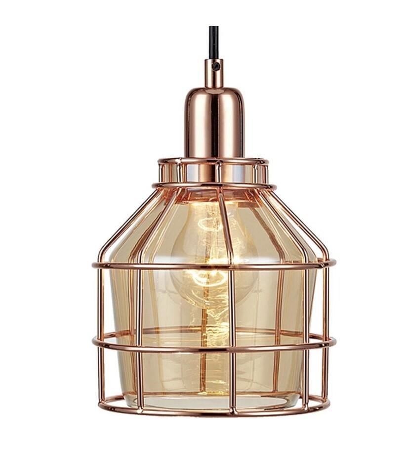 Bellezza Mini Pendant Lamp - Rose Gold