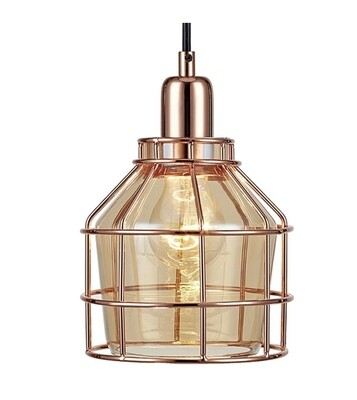 Bellezza Mini Pendant Lamp - Rose Gold