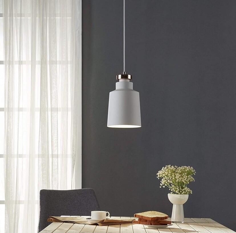 Versanora Pendant LED Light White Modern Hanging Ceiling Lighting