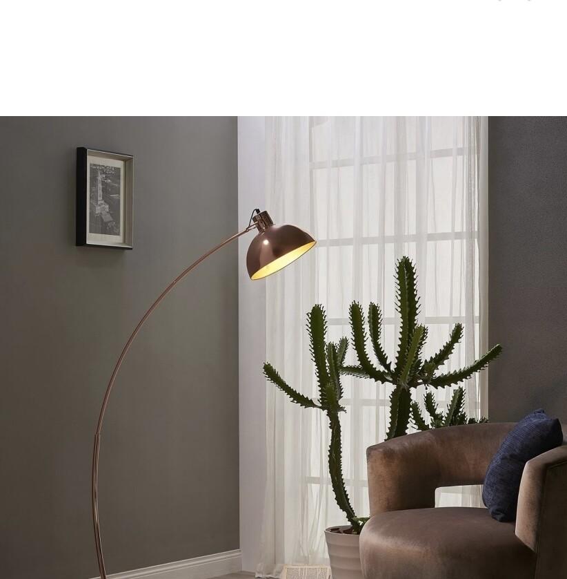 Arco Floor Lamp - Rose Gold
