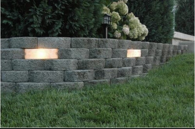 Hardscape Garden Wall Light Kit (4-Pack)