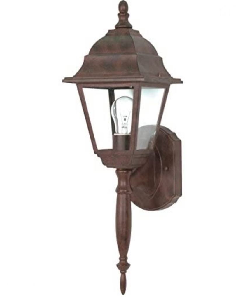 Nuvo  One Light Outdoor Wall Mount, Bronze/Dark 60-541