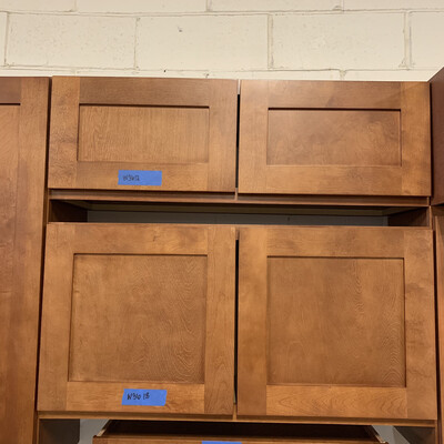 Winwood Newtown Caramel Cabinets W3612