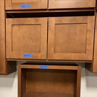 Winwood Newtown Caramel Cabinets W3618