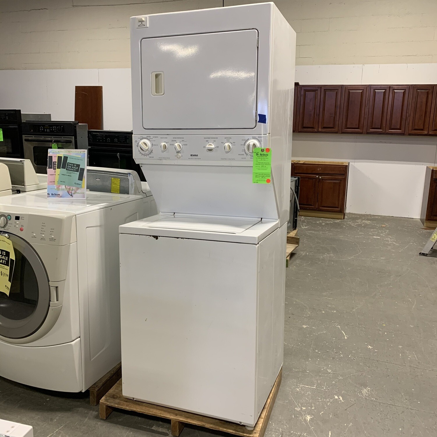 Kenmore Heavy Duty Large Capacity Dual Washer/ Dryer