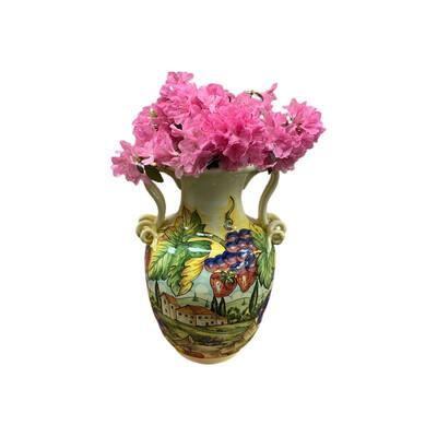 Hand Made & Painted Italian Pot