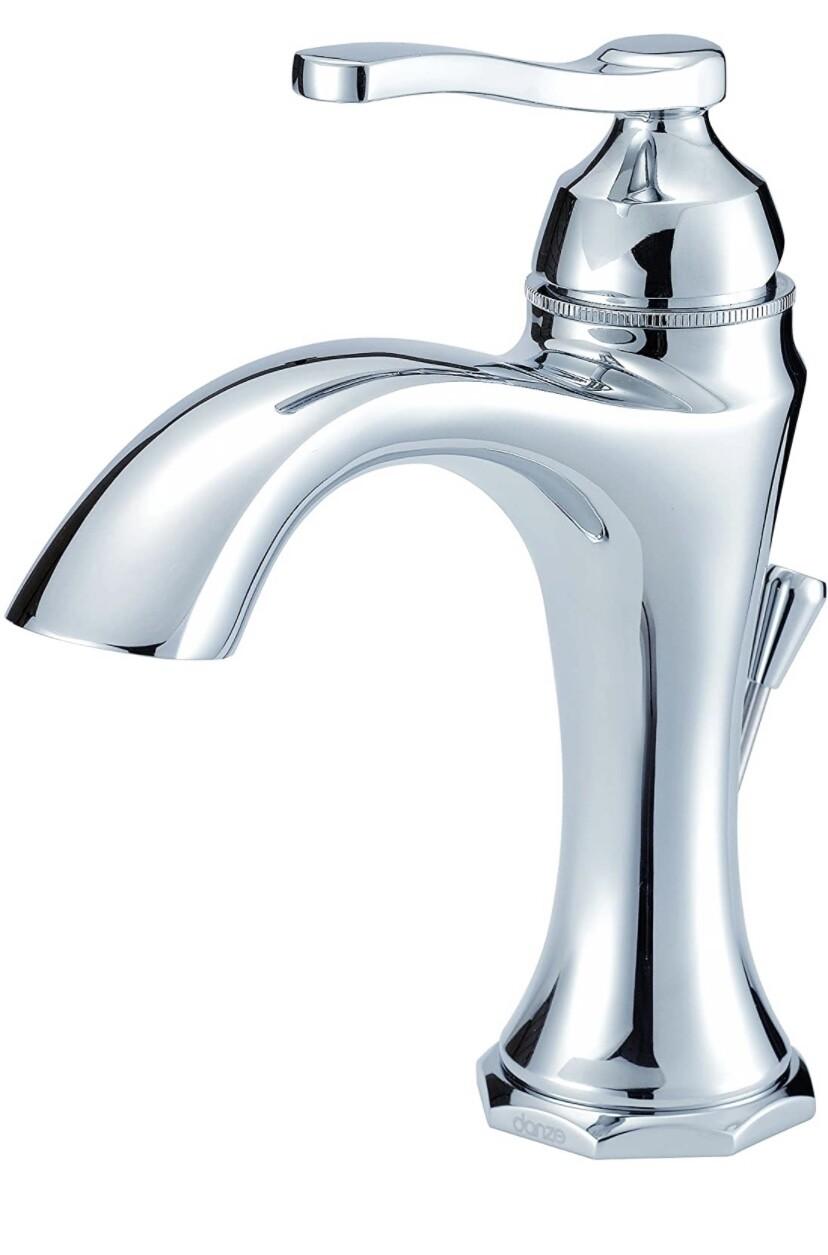 DANZE D225028 Lavatory Faucet, Chrome