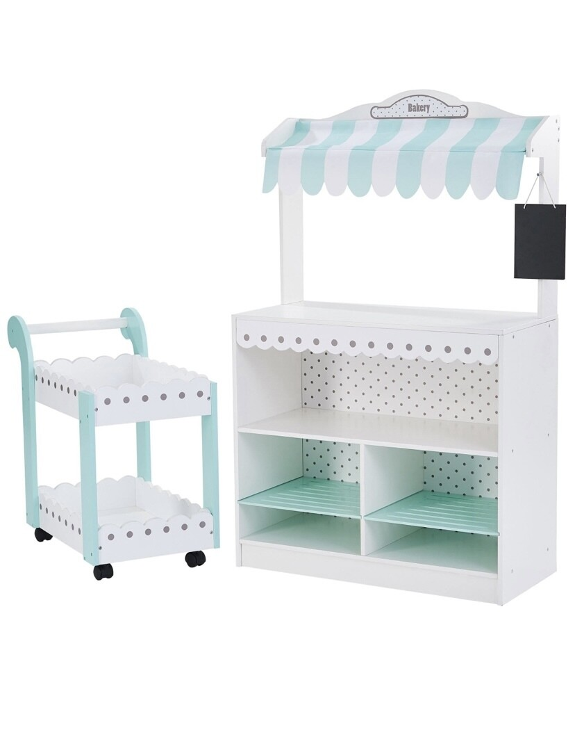 My Dream Bakery Shop Dessert Stand With Trolly
