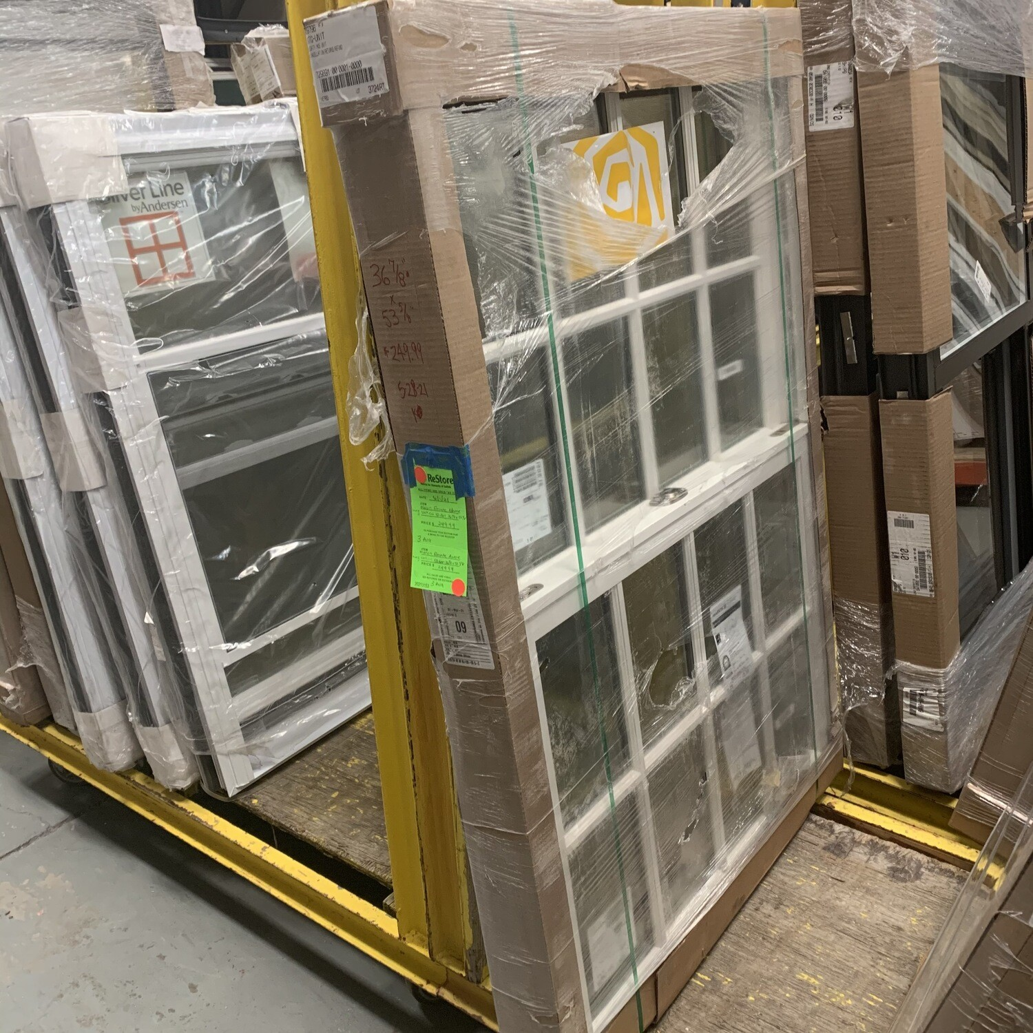 """Marvin Elevate Double Hung Vertical Slider 36 7/8"""" x 53 7/8"""""""