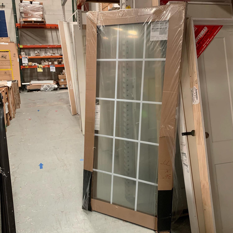 "Anderson Patio Door Stationary Panel 36"" x 78"""