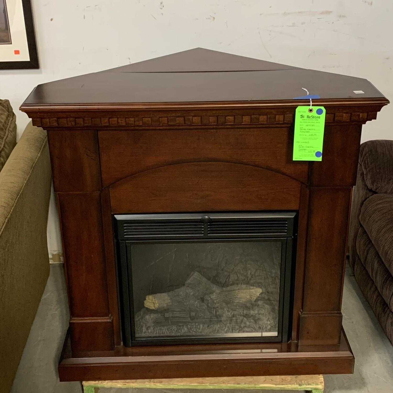 Corner Electric Fireplace