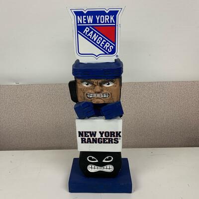 New York Rangers Tiki Totem Statue
