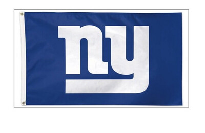 NY Giants Deluxe Flag 3' x 5'