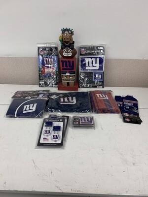 15 Piece NY Giants Fan Bundle