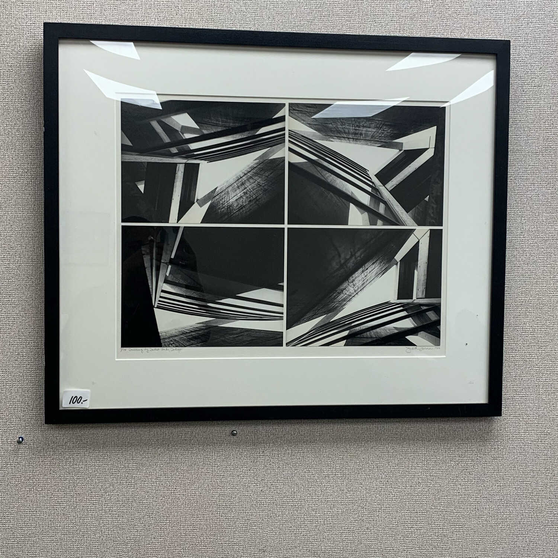 "Judith Turner "" Building by Tadao Ando, Tokyo 1987"" Print"
