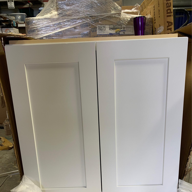 Dove White Wall Cabinet