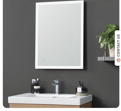 Ronbow LED Illuminated Mirror With Mirror Front IR Sensor Switch