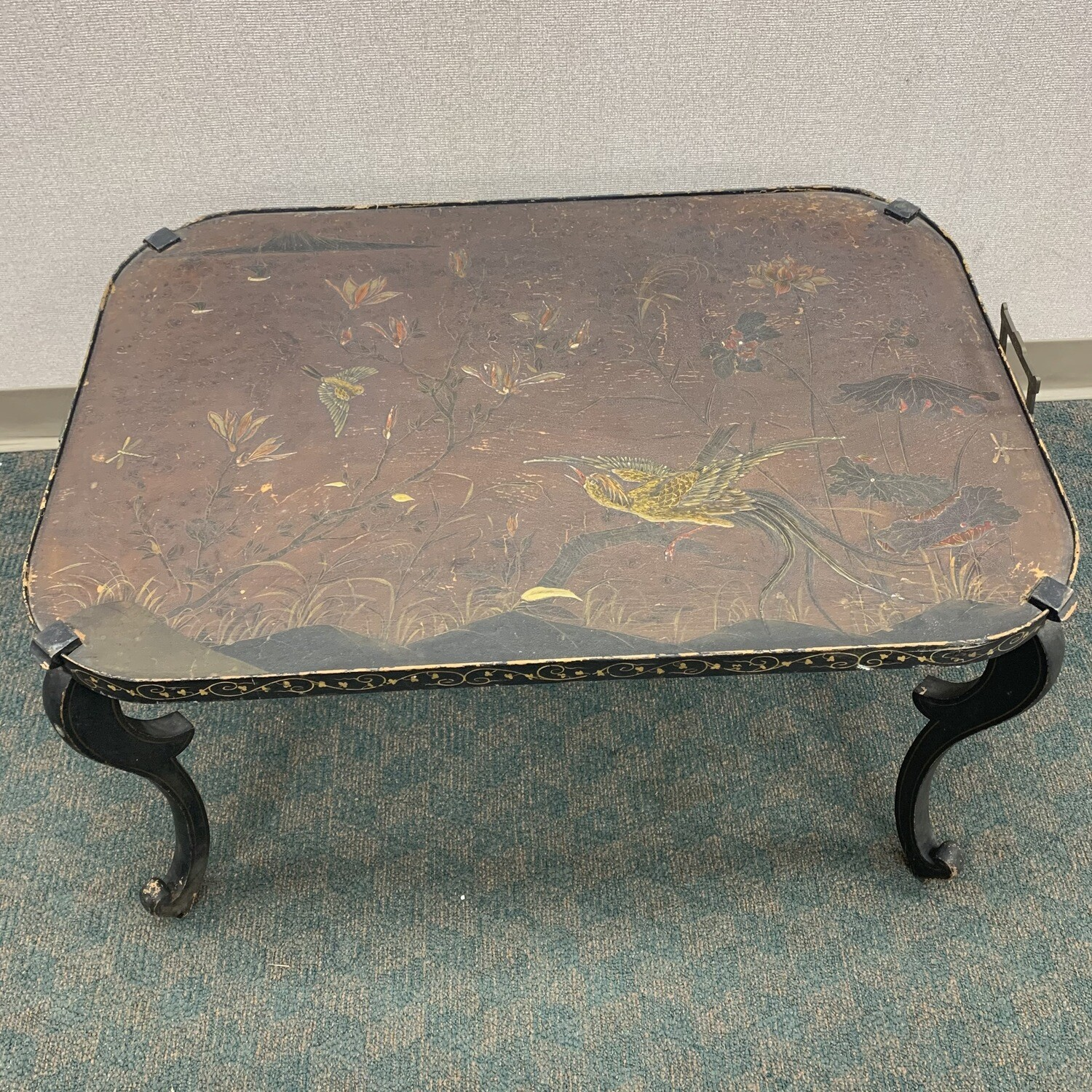 Asian inspired Tray Table