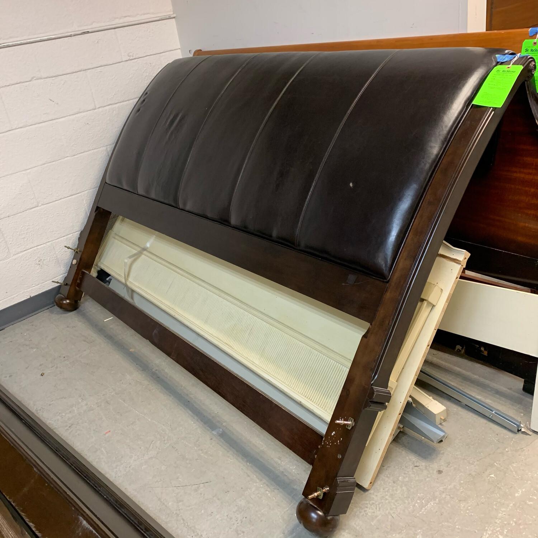 Brown King Size Bernhardt Bed Set