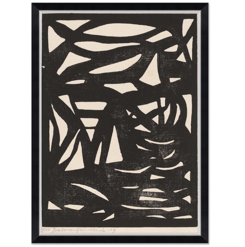"""33 1/4"""" x 45 1/4"""" Composition XXII Wall Art"""