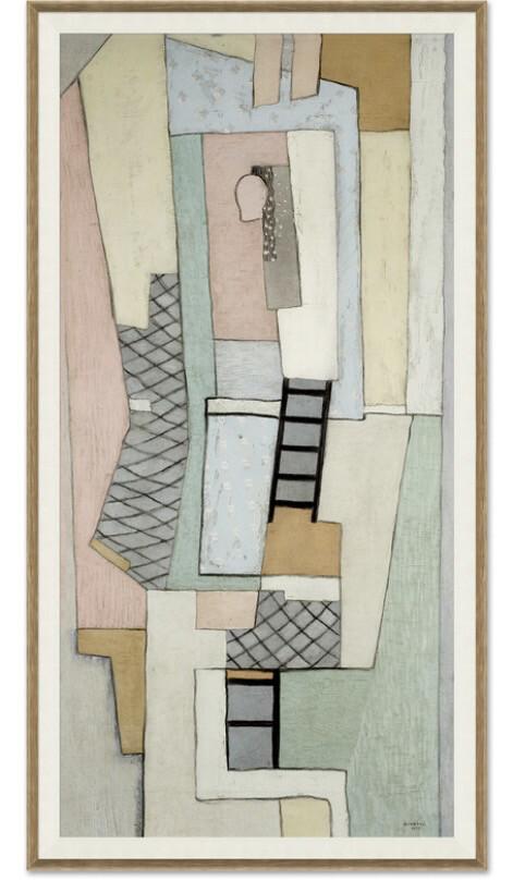 """32"""" X 60""""  Marsdens Ladder Wall Art"""