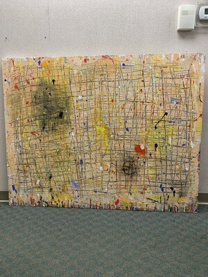 """61"""" x 48"""" Wrapped Painting"""