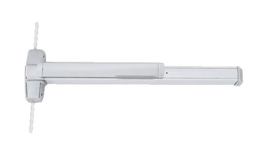 Von Duprin 9927EO US28 3′ Vertical Rod Exit Device With Alarm Kit