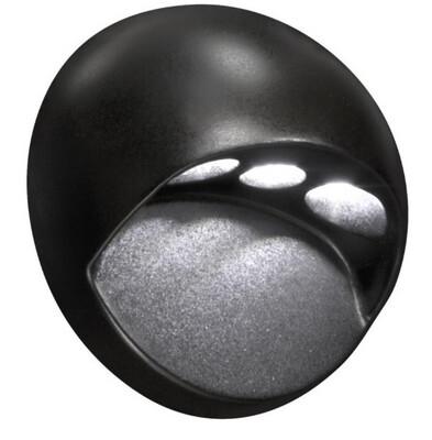 Paradise Black Cast Aluminum Low Voltage LED Deck Light (33458)