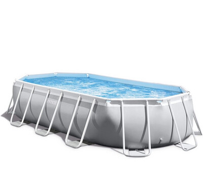 Intex Premium Prism Frame Oval Pool Set