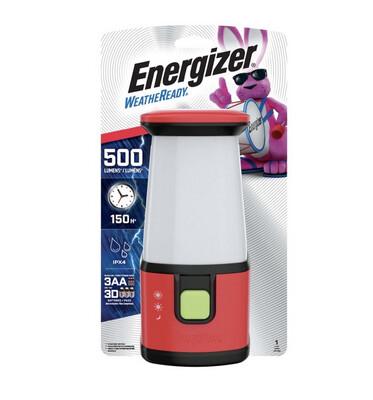 Energizer Weatheready 500 lm Red Emergency Lantern