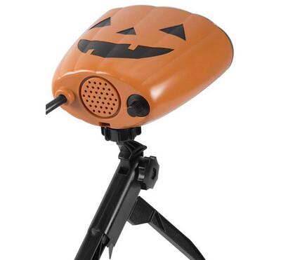 Gemmy Halloween Lightshow Projection w/Sound Fright Flickers Skeleton