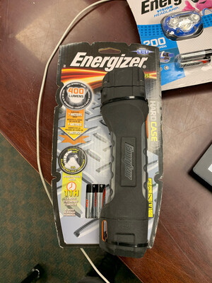 Energizer HardCase 400 lm Black LED Flashlight