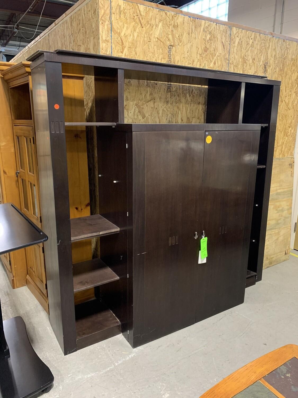 Espresso 2 Drawer Storage Unit