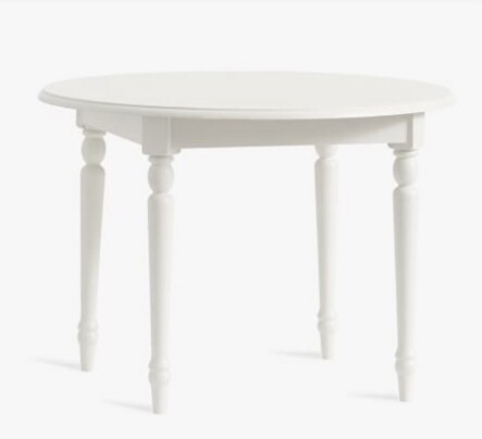 Pottery Barn Finley Play Table (Frosted White)