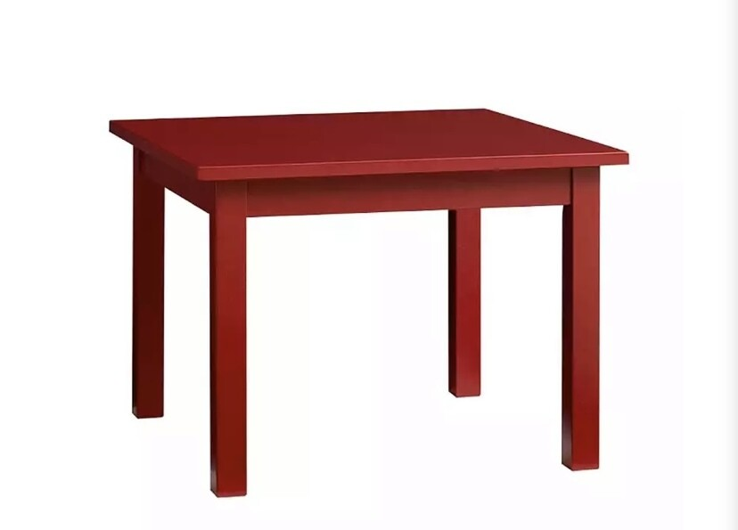 Pottery Barn My 1st Table Retro Red