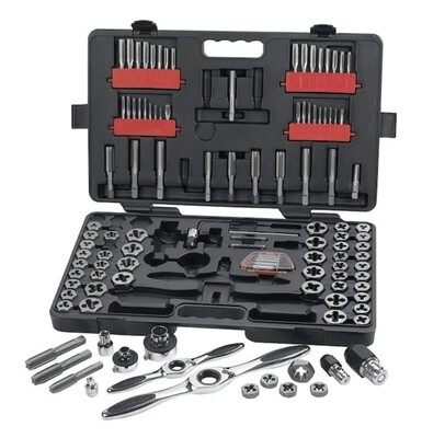 Gear Wrench 114 Pc SAE/Metric Ratcheting Tap and Die Set